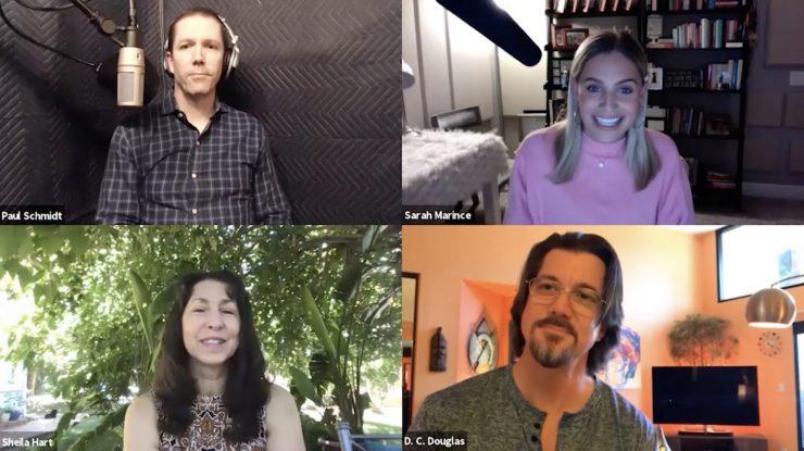 voice talent crew talk
